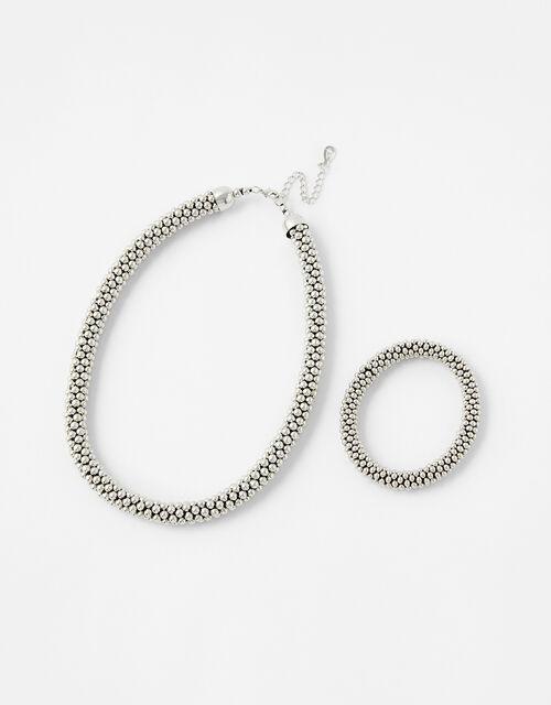 Bobble Necklace and Bracelet Set, , large