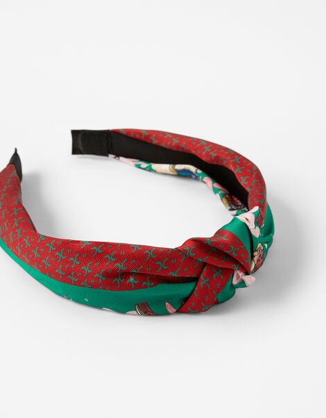 Printed Knot Headband, , large