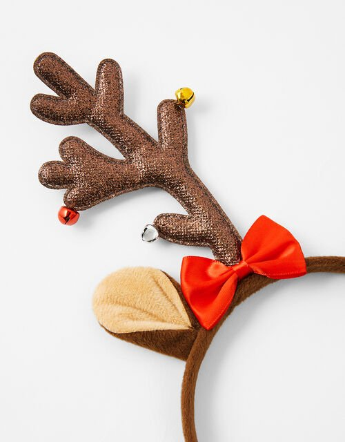 Reindeer Antler and Bauble Headband, , large