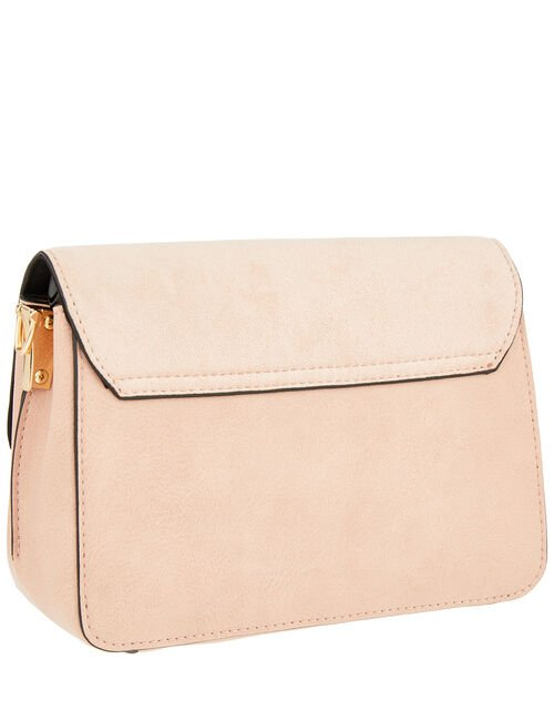 Carly Cross-Body Bag, Pink (PALE PINK), large