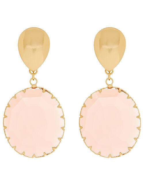 Gemstone Drop Earrings, , large