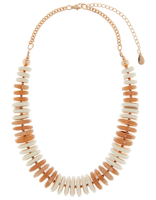 Resin Ring Collar Necklace, , large