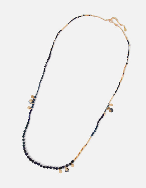 Country Retreat Long Beaded Necklace, , large