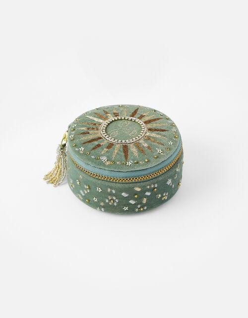 Sun Embellished Small Jewellery Box, , large