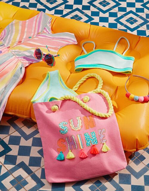 Colour-Block Bikini Set, Multi (BRIGHTS-MULTI), large