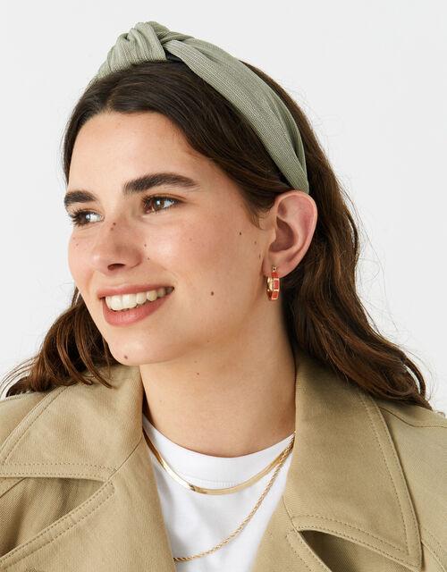 Soft Textured Knot Headband , , large