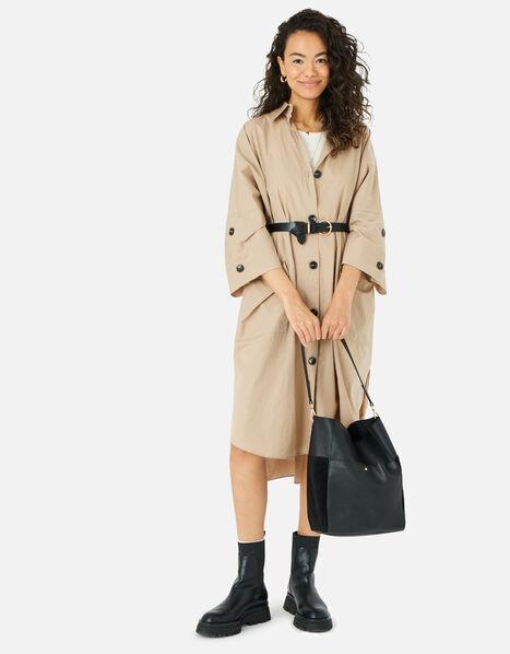 Chloe Leather Shoulder Bag , , large