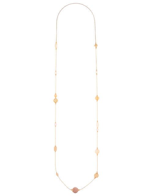 Mini Station Beaded Rope Necklace, , large