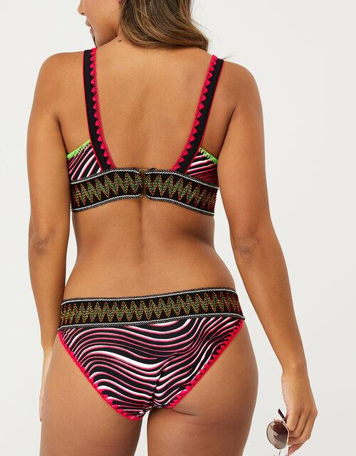 Animal Sporty Triangle Bikini Briefs, Multi (BRIGHTS-MULTI), large