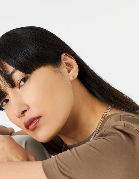 Mindfulness Stud Earring Multipack, , large