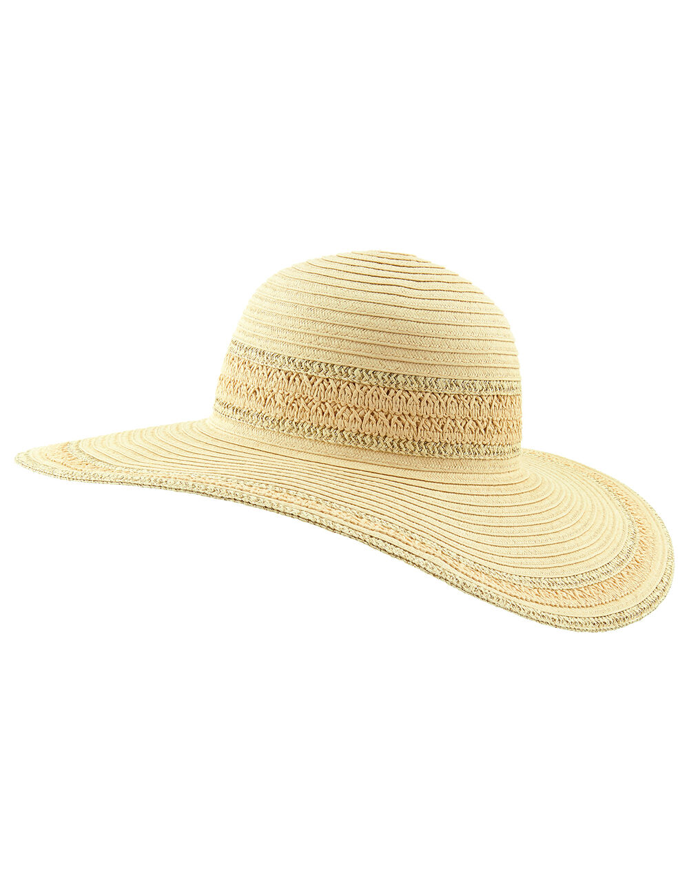 Sorento Floppy Hat , Natural (NATURAL), large