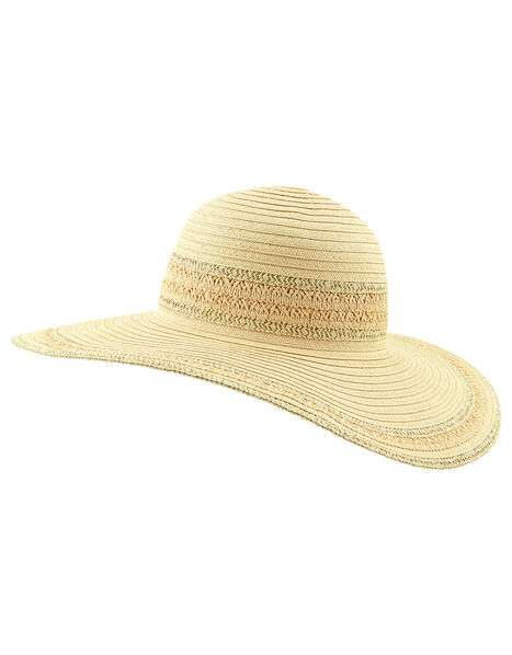 Sorento Floppy Hat  Natural, Natural (NATURAL), large
