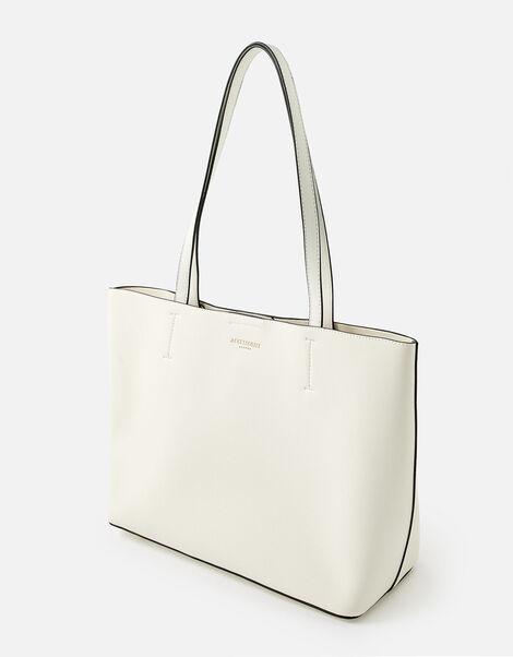 Leo Tote Bag White, White (WHITE), large