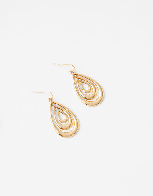 Teardrop Inlay Earrings, , large