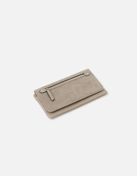 Appleton Suedette Wallet Grey, Grey (GREY), large