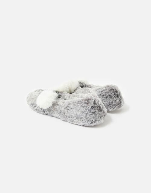 Koala Slippers, Grey (GREY), large