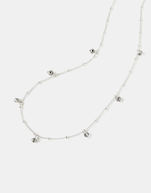 Faceted Bead Necklace, , large