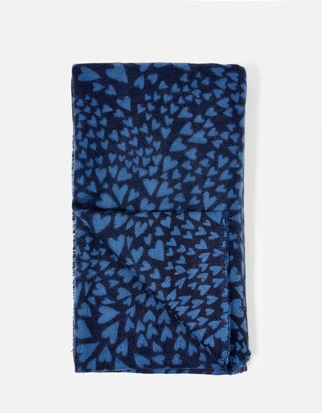 L'Amore Heart Blanket Scarf, , large