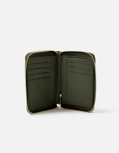 Medium Zip Purse Wallet Green, Green (KHAKI), large