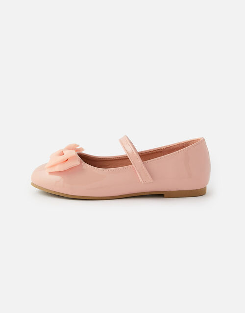 Patent Ballerina Flats, Pink (PINK), large