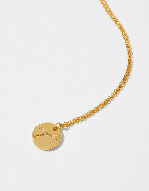 Gold Vermeil Constellation Necklace – Cancer, , large