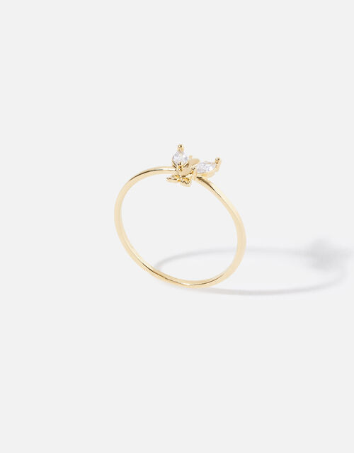 Sparkle Bee Ring, Gold (GOLD), large
