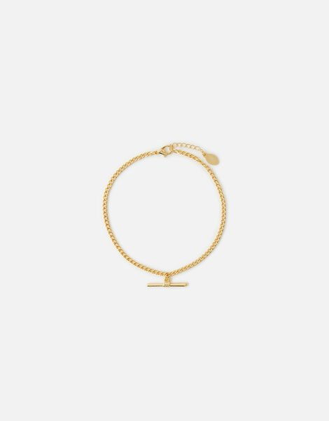 T-Bar Chain Anklet , , large