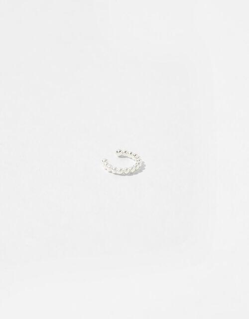 Sterling Silver Plain Ear Cuff, , large