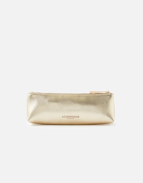 Metallic Slim Pencil Case, , large
