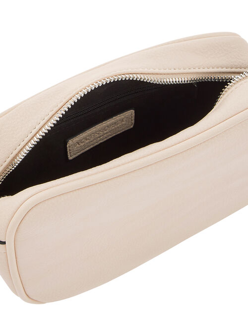Macrame Strap Camera Bag, Cream (CREAM), large