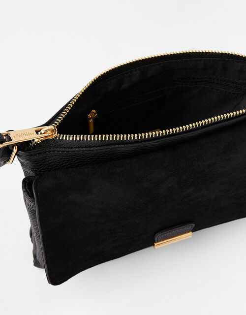 Cassie Cross-Body Bag , Black (BLACK), large
