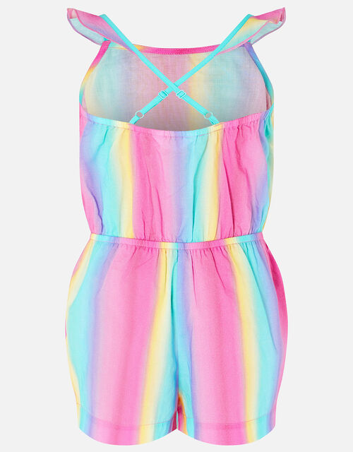 Rainbow Playsuit, Multi (BRIGHTS-MULTI), large
