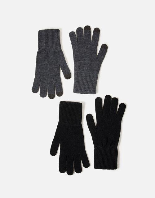 Long Cuff Touchscreen Glove Twinset, , large