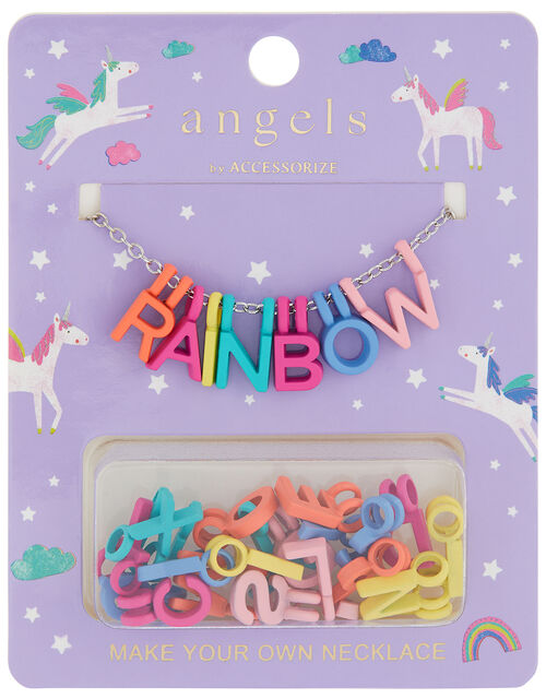 Rainbow Make-Your-Own Necklace, , large
