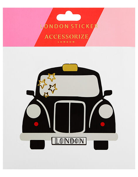 London Taxi Luggage Sticker, , large