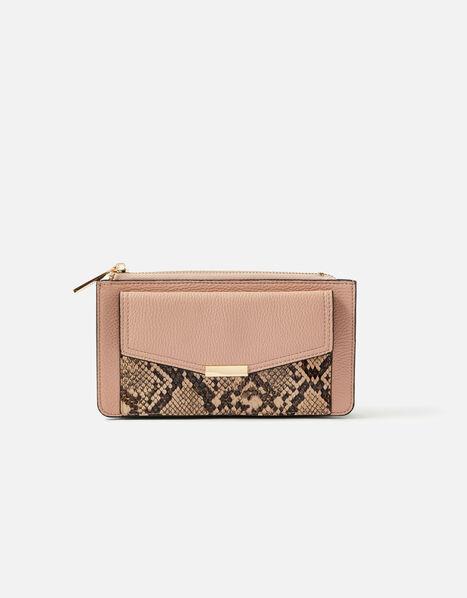 Front Pocket Zip Purse Pink, Pink (PINK), large