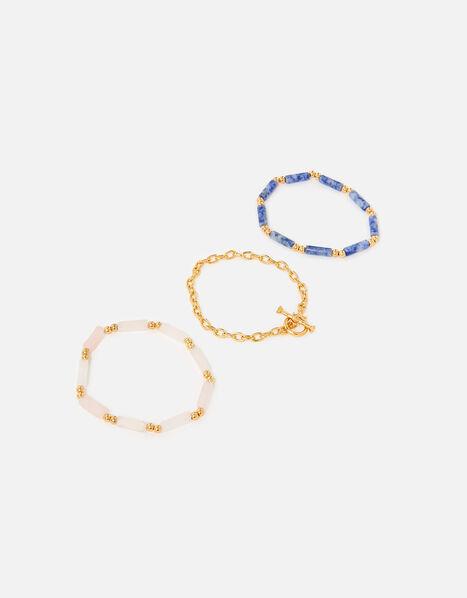 Country Retreat Bead T-Bar Bracelet, , large