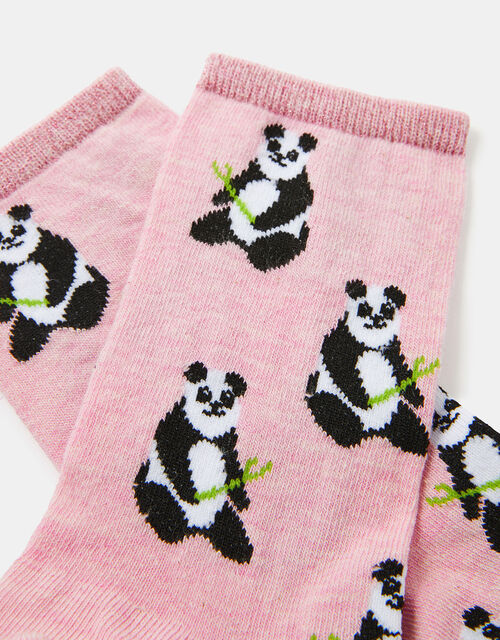Panda Ankle Socks, , large