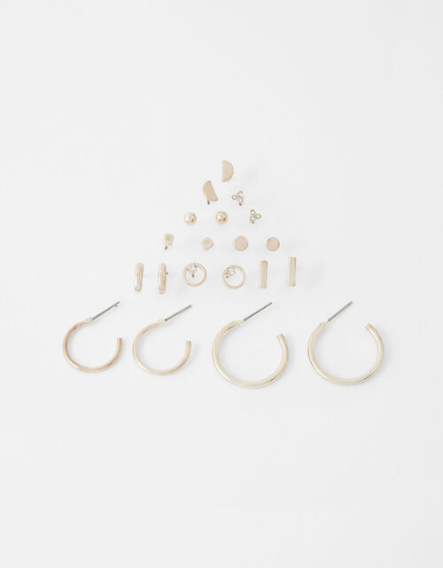 Stud and Hoop Multipack with Recycled Metal, , large