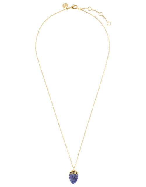 Healing Stones Labradorite Pendant Necklace, , large