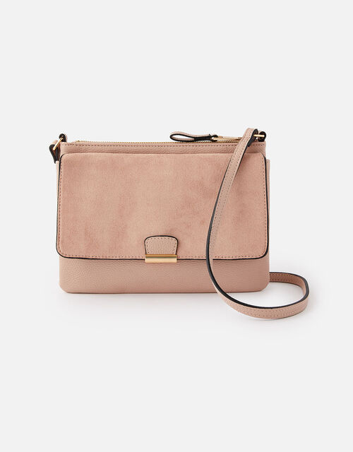 Cassie Cross-Body Bag , Nude (NUDE), large