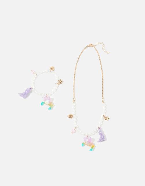 Unicorn Jewellery Set, , large