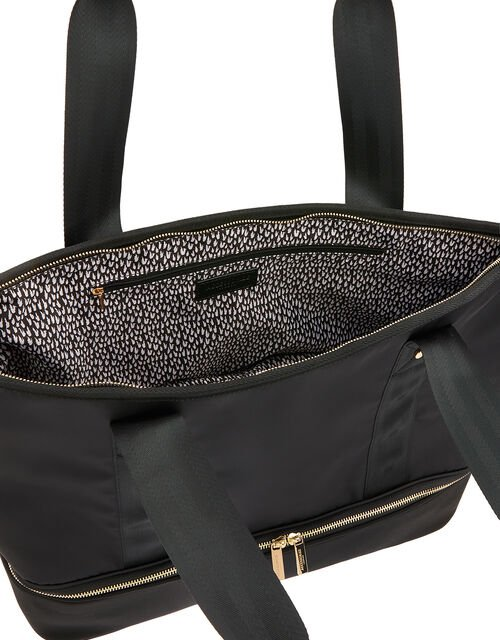 Alice Vegan Weekend Bag, Black (BLACK), large