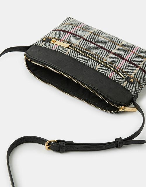 Elly Check Cross-Body Bag, , large
