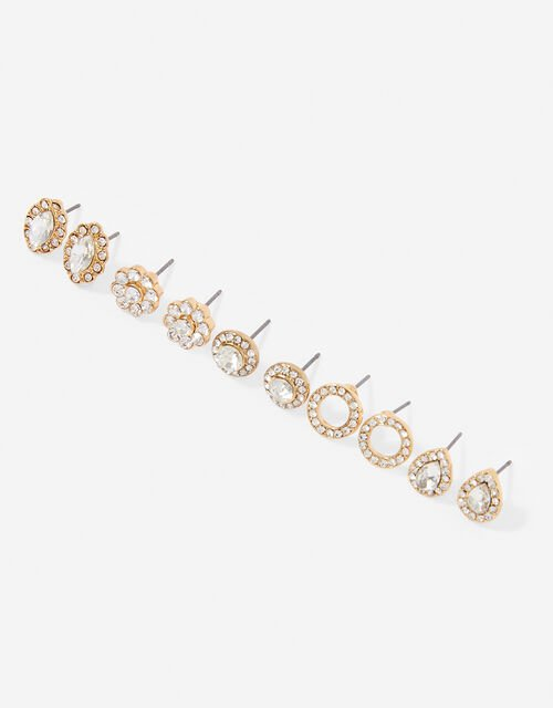 Glamazon Sparkle Stud Earring Multipack, , large