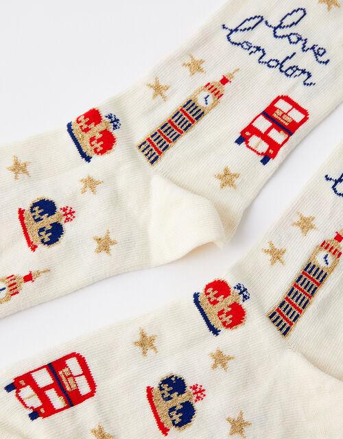Love London Ankle Socks, , large