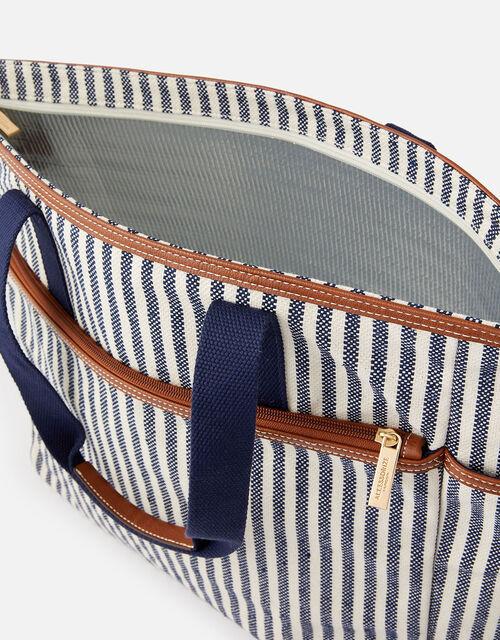 Stripe Large Picnic Bag, , large