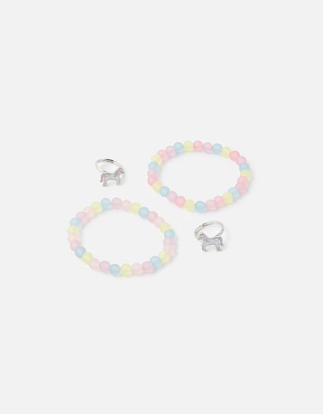 BFF Unicorn Bracelet and Ring Set, , large