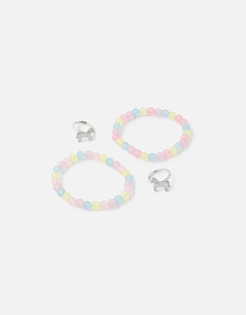 BFF Unicorn Bracelet and Ring Set, , large