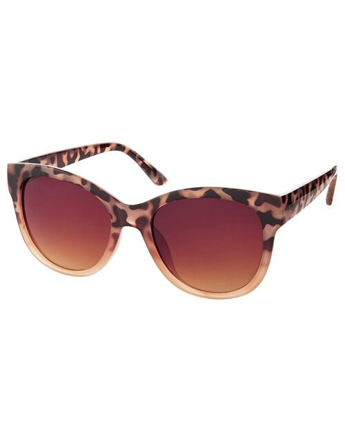 Waverly Tortoiseshell Wayfarer Sunglasses, , large
